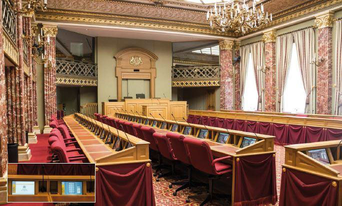 The Parliament of Luxembourg