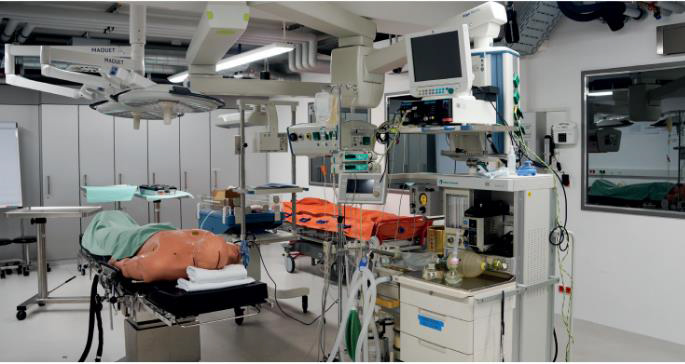 Technical University of Munich, Medical Training Center Brings Mannequins to Life With Clockaudio