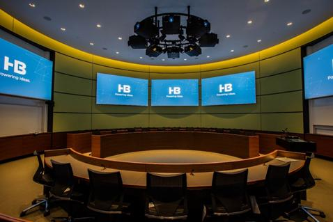 Yale's School of Management sets the highest standards for form and function while utilizing Clockaudio microphone technologies.