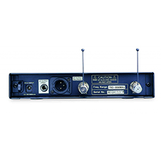 CW 9001 Receiver Back